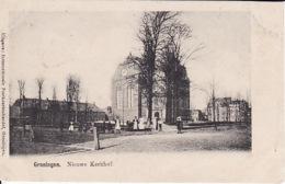 274783Groningen, Nieuwe Kerkhof (achterkant Is Er Niet Meer) - Groningen