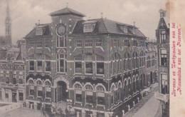 2747133Groningen, Bureaux En Werkplaatsen Van Het ,,Nieuwsblad Van Het Noorden'' (zie Hoeken, Rechts Een Minuscuul Sch - Groningen