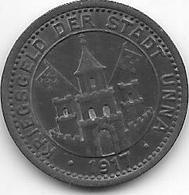 *notgeld  Unna 10 Pfennig  1917 Zn   556.2 - [ 2] 1871-1918 : German Empire
