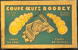 """ORIGINAL COUPE OEUFS """"RODREY"""" - Curieux Appareil En Métal Dans Sa Boite - Il Fonctionne Très Bien - TBE - Tools"""