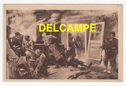 DF / GUERRE 1870-71 / BAZEILLES (ARDENNES) LES DERNIÈRES CARTOUCHES , DEFENCE DE LA MAISON BOURGERIE PAR LE CDT LAMBERT - Other Wars