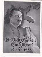 ALLEMAGNE 1938 CARTE DE PROPAGANDE  DE WIEN - Briefe U. Dokumente