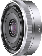 Brand NEW! Sony αlpha E 16 Mm F/2.8 Wide-Angle Lens For NEX, A7, A9, Mirrorless Camera - Linsen