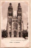 X37101 TOURS Indre-et-Loire La Cathédrale Edition CHOCOLATERIE D'AIGUEBELLE 1890s Cppub - Tours