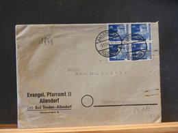84/273   LETTRE  ALLEMAGNE 1948 - Briefe U. Dokumente