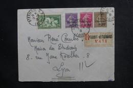 FRANCE - Affranchissement Caisse D'Amortissements Sur Enveloppe En Recommandé De St Etienne En 1931 Pour Lyon - L 48191 - 1921-1960: Periodo Moderno