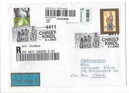 22904- Christkindl 2002 Cover Einschreiben Chur 05.01.2002 - Christmas