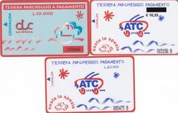 CITTA DI LA SPEZIA ATC CARD PARCHEGGI - Biglietti D'ingresso