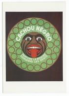 CACHOU NEGRO à La Menthe Parfume La Bouche, Conserve Les Dents . Vers 1925 - Amorimage Pour Humour à La Carte PU 455 - Reclame
