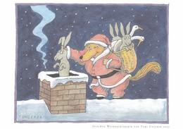 Tomi Ungerer , Joyeux Noël Et Carte De Voeux   Pour 2007 , Spielweg - Ungerer