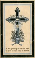 Dp. Onderwijzer Booischot. Lettani Antonius. Wed. De Man Maria. ° Mechelen 1822 † Booischot 1905  (2 Scan's) - Religion & Esotérisme