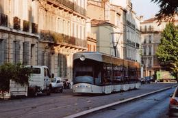 Marseille (13 - France)  Tramway De Marseille 1er Juillet 2009 - Ligne T2 – Cinq Avenues - Cinq Avenues, Chave, Blancarde, Chutes Lavies