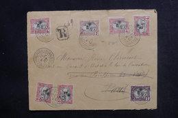 CÔTE DES SOMALIS - Enveloppe En Recommandé De Djibouti Pour La France En 1907, Affranchissement Recto Et Verso - L 48199 - Lettres & Documents