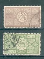 ARABIE SAOUDITE ; HEDJAZ ; 1917 ; Y&T N° 8-10 ; Oblitéré - Arabia Saudita