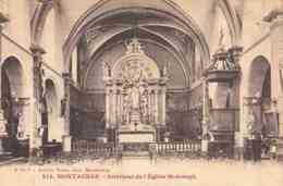 CPA MONTAUBAN - INTERIEUR DE L'EGLISE SAINT JOSEPH - Montauban