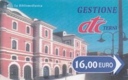 CITTA DI TERNI ATC CARD PARCHEGGI - Biglietti D'ingresso