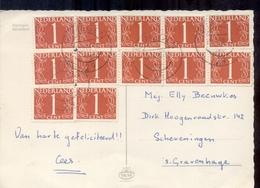 Den Haag - 12 X NVPH 460 - 1970 - Postal History
