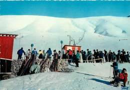 38 - Les 2 Alpes - Venosc Et Mont De Lans - Le Téléski De Côte-Brune Et Les Pistes Du Diable - Hiver - Neige - Carte Neu - France