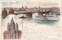 CPA  -  Gruss Aus Mainz - 1899 - Mainz