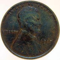 United States Of America 1 Cent 1917 XF - Emissioni Federali