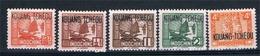 FRANCE  COLONIES KUANG  TCHEOU  N° 140* à 155* (mque 144-146-148A) - Kouang-Tcheou (1906-1945)