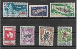 T.A.A.F.-7 SUPERBES TIMBRES AVEC BELLES OBLITERATIONS-DEPUIS LE N° 31 -PAS EMINCE-COTE Y.T.110 € -DEPUIS 1969 - Französische Süd- Und Antarktisgebiete (TAAF)