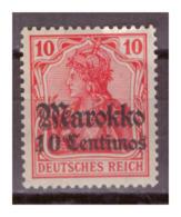 Marokko, Nr. 48a, Postfrisch - Deutsche Post In Marokko