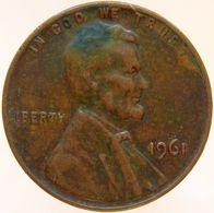 United States Of America 1 Cent 1961 XF - Emissioni Federali