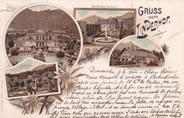 CPA  -  Gruss Aus Linderhof - 1899 - Muenchen