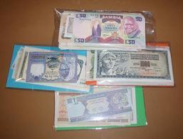 OFFER   Lot Of Banknotes -    Mundial / World  25 Billetes Diferentes  SC / UN - Banknotes