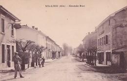 VILLIEU      . GRANDE RUE   CAFE BEAUFORT - Autres Communes