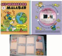 """COLLECTEUR  IMAGES """" LES VOYAGES De  MALABAR  """"  Par J.C POIRIER 1980 - Books, Magazines, Comics"""