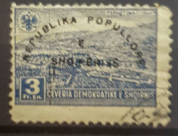 ALBANIA 1946 - Canceled - Mi 407 - 3F - Albanie