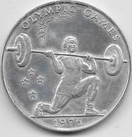 Samoa - 1 Dollar - Haltérophilie - 1976 - Argent - Samoa