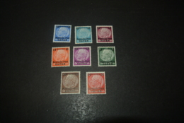 K24107 - Stamps Mint Hinged Deutsche Post Osten - - Deutsches Reich Overprinted - Ongebruikt