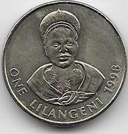 Swaziland - 1 Lilangeni - 1998 - Swazilandia