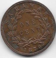Sarawak - 1 Cent - 1870 - Otros – Asia
