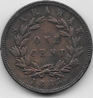 Sarawak - 1 Cent - 1885 - Otros – Asia