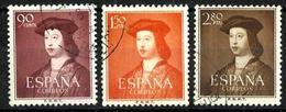 España Nº 1108/10 En Usado. Cat.29,85€ - 1951-60 Used