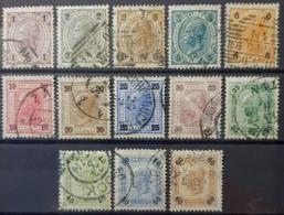 AUSTRIA 1901 - Canceled - ANK 84-96 - Gebraucht