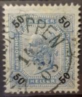AUSTRIA 1901 - Canceled - ANK 95 - 50h - Usados