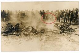 Frankreich Belgien Soldaten Soldats Soldiers -  Allemande Carte Photo-1914-1918 WWI - Guerra 1914-18
