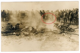Frankreich Belgien Soldaten Soldats Soldiers -  Allemande Carte Photo-1914-1918 WWI - War 1914-18