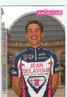 Laurent LEFEVRE . 2 Scans. Jean Delatour 2003 - Wielrennen