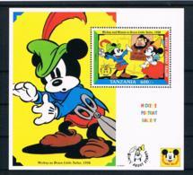 Tansania 1992 Walt Disney Block 197 ** - Tansania (1964-...)