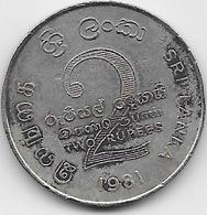 Sri Lanka - 2 Rupees - 1981 - Sri Lanka