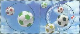 HR 2008-859 EU CHAMPIONSHIP IN FOOTBALL AUSTRIA-SCHWITZERLAND, CROATIA HRVATSKA, FDC, MNH - Croatie