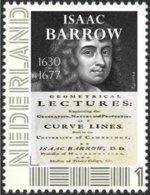BARROW, I. - English Mathematician - Lucasian Professor Cambridge, Mathematics - Individual Stamp - Ohne Zuordnung