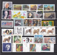 BRD - 1996 - Sammlung - Postfrisch - Unused Stamps