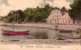 83 TOULON TAMARIS SUR MER LE CASINO ANIMEE CARTE COLORISEE CLICHE UNIQUE - Tamaris